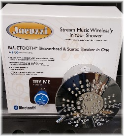 Bluetooth shower head