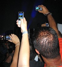 Cell phone cameras