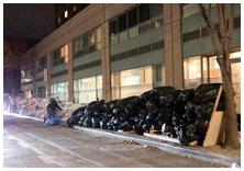 Garbage strike NYC