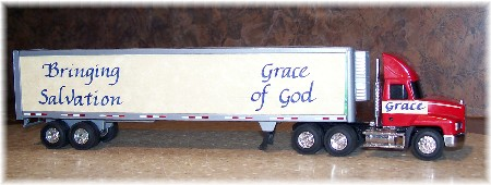 Grace truck - Bringing Salvation!