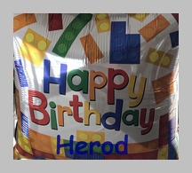 Herod's birthday balloon