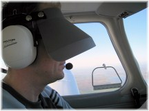 IFR training hood