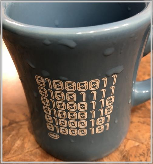 Binary mug