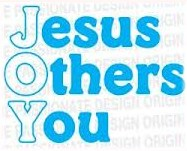 Jesus, Others, You