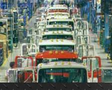 Mack truck assembly plant