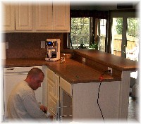 Mike, kitchen finish carpenter