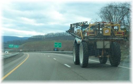 Mystery truck on Rt. 322