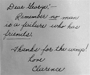 "Quote from ""It's a Wonderful Life"""