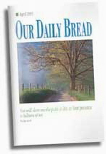 Our Daily Bread booklet cover