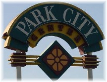 Park City sign Lancaster County PA