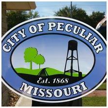 Peculiar, MO sign