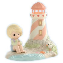 """Precious Moments"" figurine"