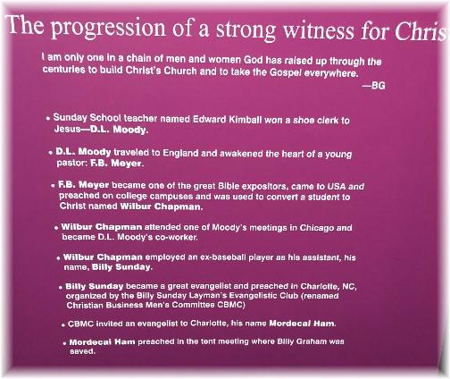 Progression of witness
