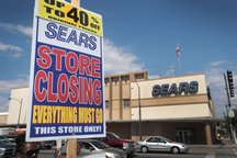 Sears closing sign