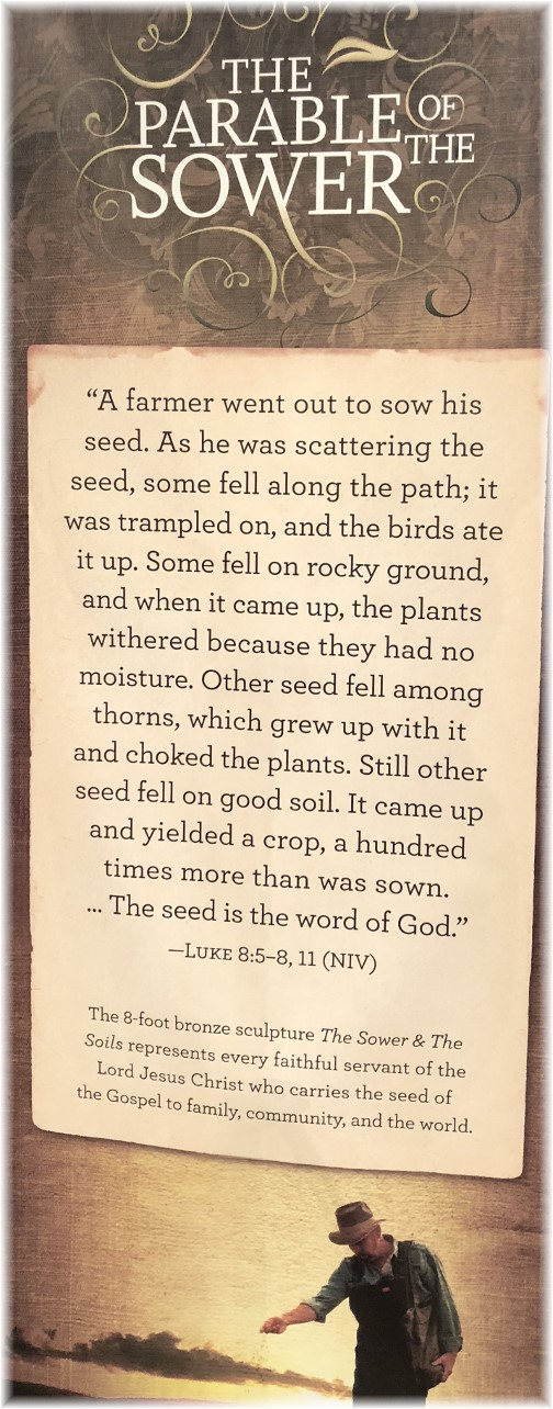 Sower statement at Billy Graham library 3/19/18
