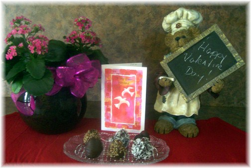 Valentine's Day arrangement 2012