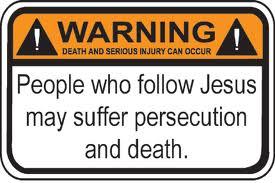 Persecution warning label