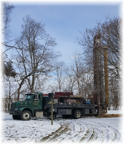 Well drilling 1/9/17