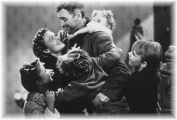 "Scene from ""It's a wonderful life"""
