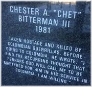 Chet Bitterman tribute