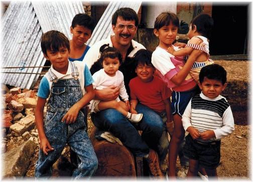 Fusagasuga mission trip 1991