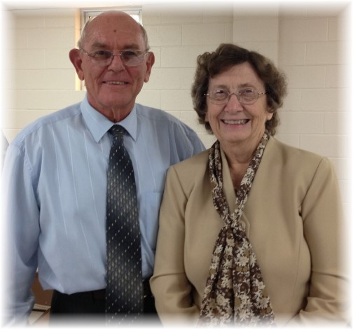 Jake and Nancy Shenk (10/20/13)