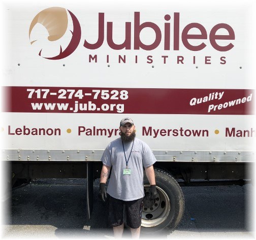 John at Jubilee missions in Lebanon, PA 5/15/18