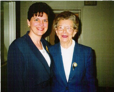 Mom, along with Brooksyne