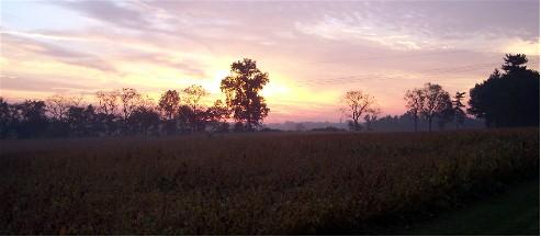 Morning landscape September 22, 2006