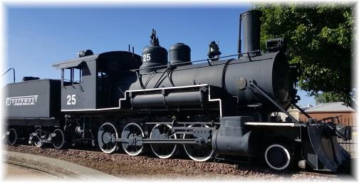 Flagstaff train display 7/5/16