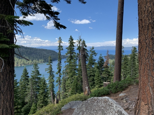 Lake Tahoe inspiration point 7/23/19 Click to enlarge