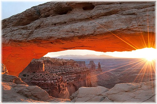 Mesa Arch Canyonlands National Park, Utah (Howard Blichfeldt)