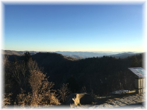 Smoky Mountain view 11/22/16