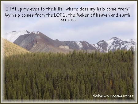 Photo of mountain view in the Yukon