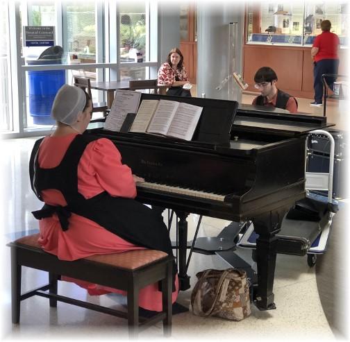 Hershey Medical Center pianist 6/5/18