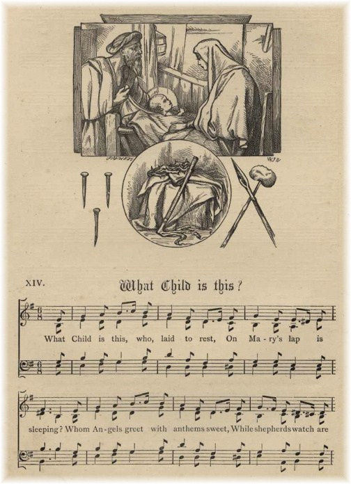 """What Child Is This? hymn page"