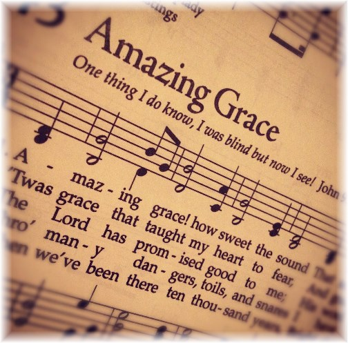 Amazing Grace hymn page