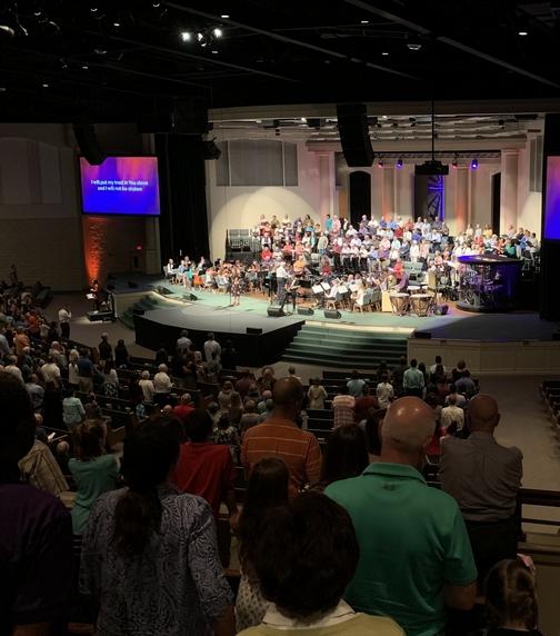 Calvary Church Choir 9/15/19