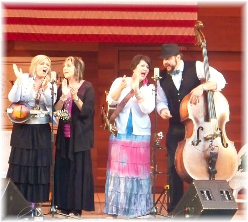 The Isaacs (bluegrass gospel group) 8/25/13