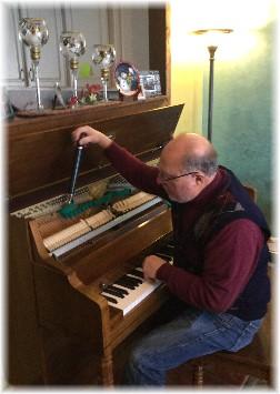 Leavitt Keener piano tuning 2/23/15