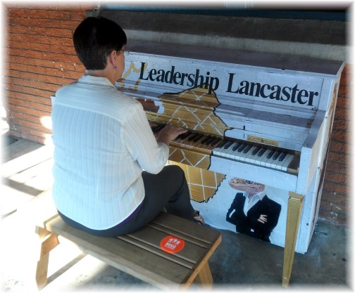 Lancaster street piano 8/2/13
