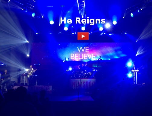 He Reigns, the Newsboys (photo by Ester)
