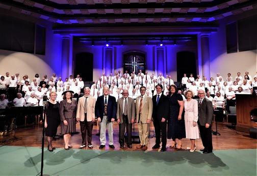 Old-fashioned choir 8/25/19