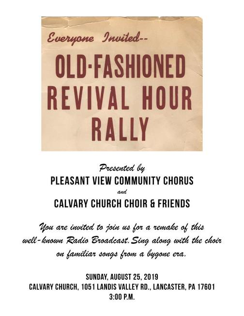 Revival Hour poster