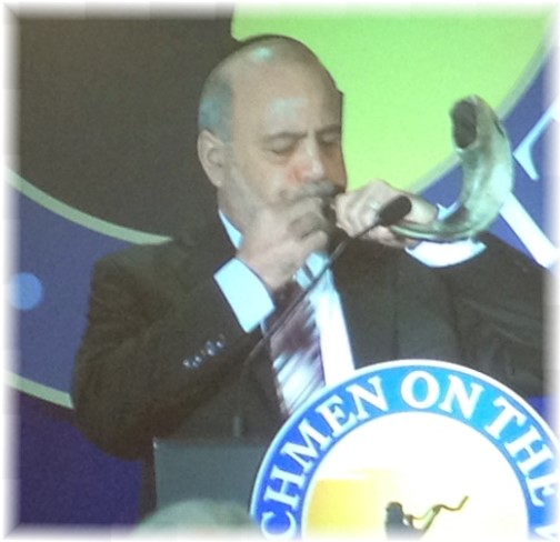 Shofar at Watchmen on the Wall event 5/22/14