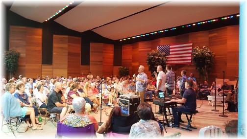 Triumphant Quartet concert 7/23/17