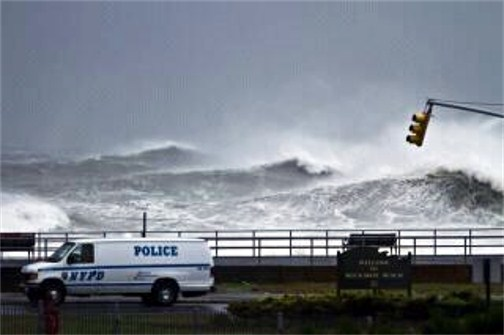 Hurricane Sandy from Rockaway NY