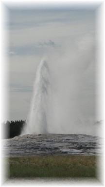 Old Faithful (photo by Jim Weischedel)