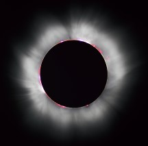 Solar eclipse via Wikimedia Commons from Wikimedia Commons (click to enlarge)