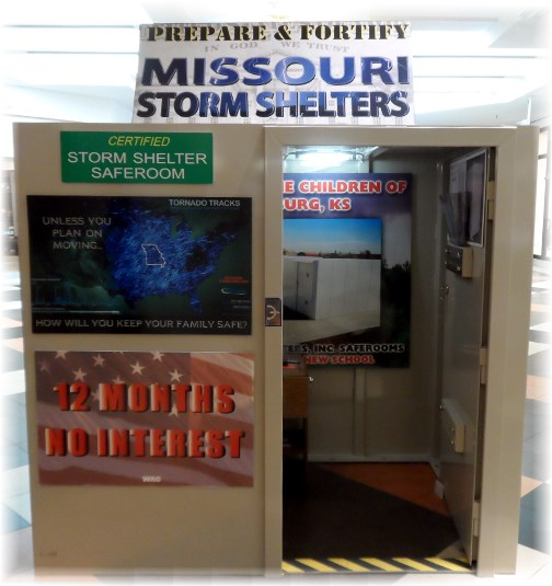 Portable storm shelter 7/11/13